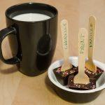 Sucettes pour chocolat chaud