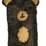 Marionnettes de doigts – petit ours brun